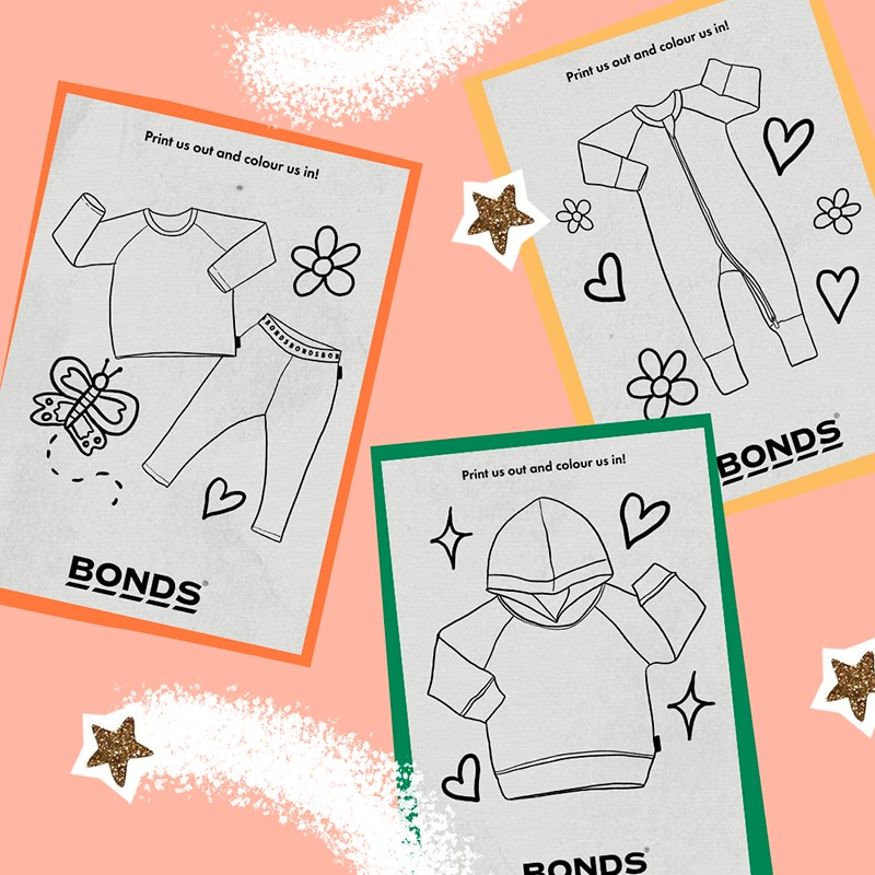 Boredom buster: Free printable colouring in sheets
