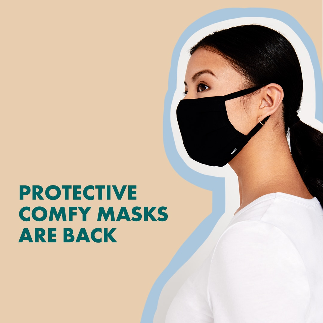 We've got you covered. Bonds Face Masks are back!