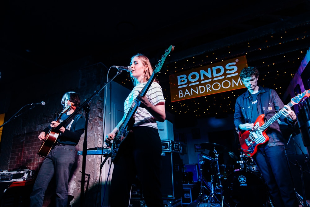 Hatchie's Gig at the Bonds Bandroom