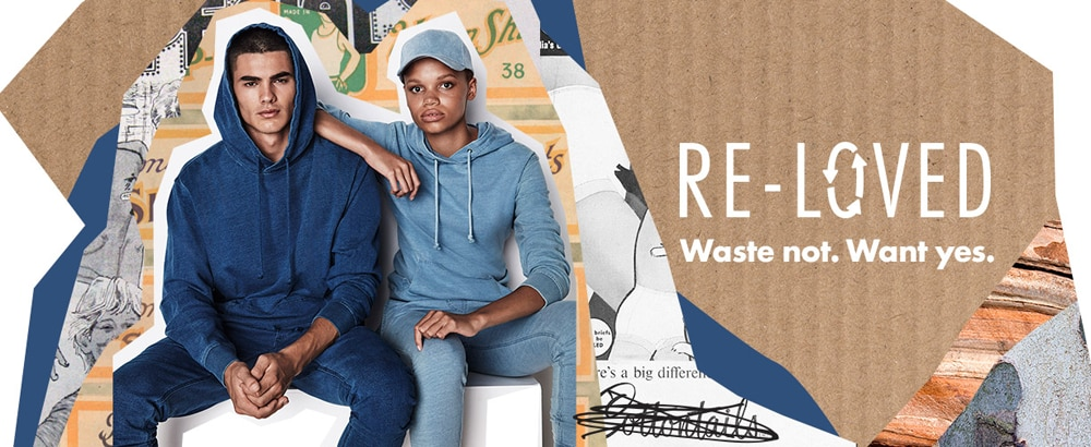 Introducing Re-Loved: Our Recycled Range