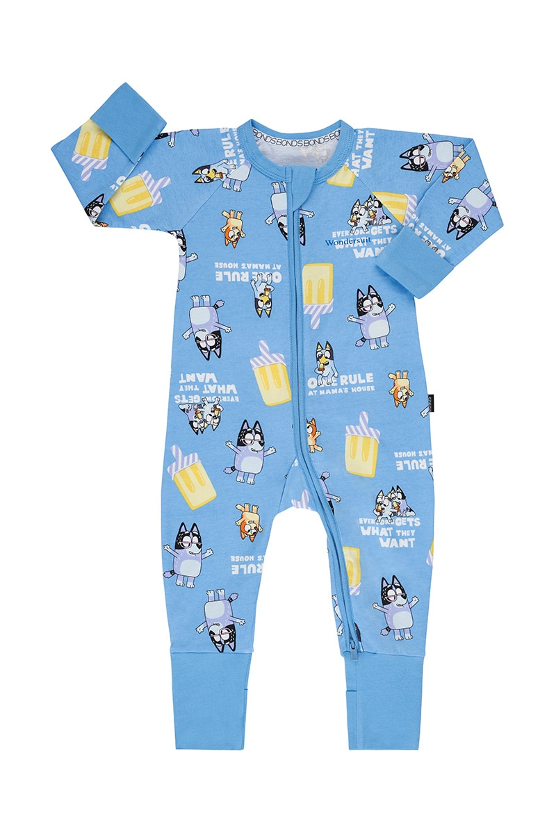 Bluey Baby Pattern Crew 2 Pack - Pack 05
