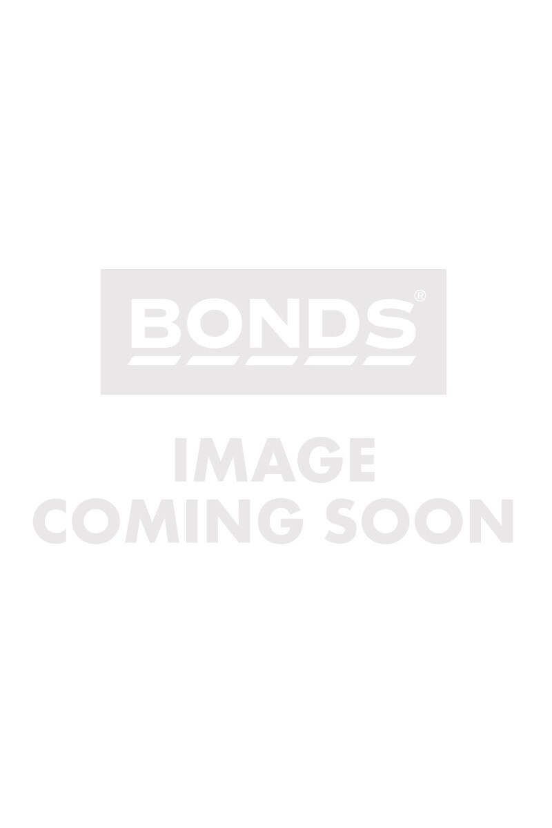 Bonds Wideband Bra Tank Charcoal Stripe