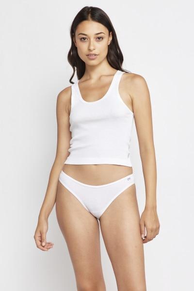 Organics Ribbed Bikini