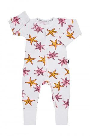 Bonds Zip Wondersuit Floating Starfish White