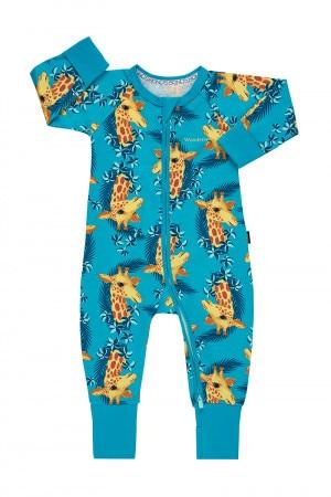 Bonds Zip Wondersuit George Giraffe Teal