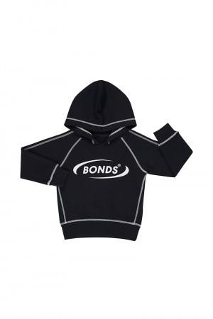 Bonds Kids Cool Sweats Hoodie Black