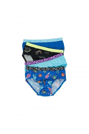 Boys Brief 4 Pack